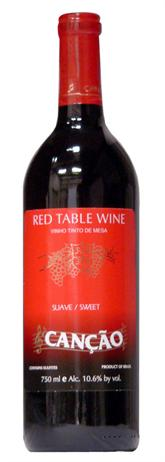 Cancao Red Table Wine  Sweet
